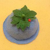 """Для дома и интерьера ручной работы. Ярмарка Мастеров - ручная работа Шапка для бани """" Колокольчик"""". Handmade."""