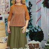 Одежда handmade. Livemaster - original item Pullover neoprene mesh pullover Air chocolate. Handmade.