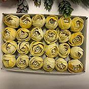 Цветы искусственные ручной работы. Ярмарка Мастеров - ручная работа Цветы из фоамирана Желтый лютик. Handmade.