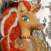 Куклы и игрушки ручной работы. Ярмарка Мастеров - ручная работа Чердачная кукла - Лисица. Handmade.