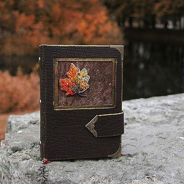 Stationery handmade. Livemaster - original item Notepad with beaded