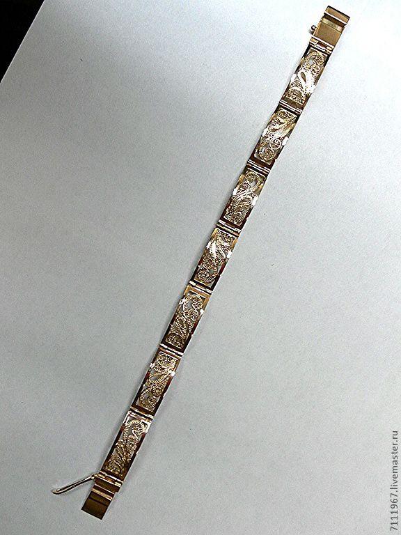 Изготовление браслета к золотым часам