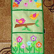 Текстиль ручной работы. Ярмарка Мастеров - ручная работа Кармашки для детской. Handmade.