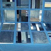 Для дома и интерьера ручной работы. Ярмарка Мастеров - ручная работа Джинсовый чехол на диван. Handmade.