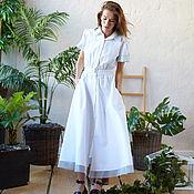 Одежда ручной работы. Ярмарка Мастеров - ручная работа Платье хлопковое. Handmade.