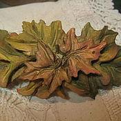 Заколки ручной работы. Ярмарка Мастеров - ручная работа Заколка для волос из дерева Кленовая. Handmade.