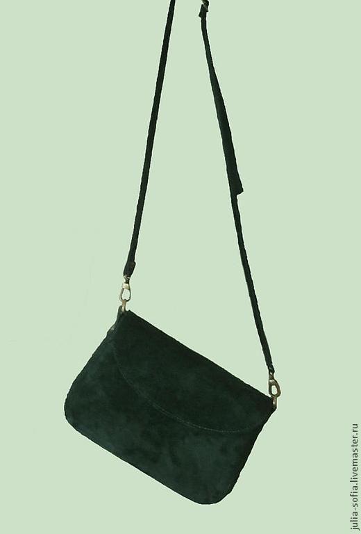 Женские сумки ручной работы. Ярмарка Мастеров - ручная работа. Купить Женская замшевая сумка. Handmade. Женская сумка