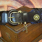 Аксессуары handmade. Livemaster - original item BELT STEAMPUNK