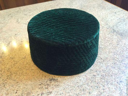 Шляпы ручной работы. Ярмарка Мастеров - ручная работа. Купить Тюбетейка. Handmade. Черный, тюбетейка, национальный, хлопок 100%