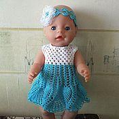 Куклы и игрушки ручной работы. Ярмарка Мастеров - ручная работа Летний комплект для куклы.. Handmade.