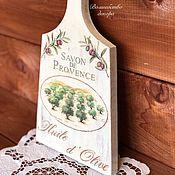 """Доски ручной работы. Ярмарка Мастеров - ручная работа Доска """"Savon De Provence"""". Handmade."""