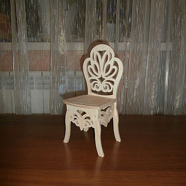 Dolls & toys handmade. Livemaster - original item High chair for dolls 1203. Handmade.