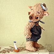 Куклы и игрушки ручной работы. Ярмарка Мастеров - ручная работа мишка Кораблик. Handmade.
