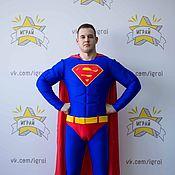Одежда handmade. Livemaster - original item Superman costume. Handmade.