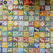 Для дома и интерьера handmade. Livemaster - original item Suzdal handmade tiles. Handmade.