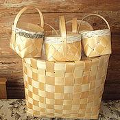 Русский стиль ручной работы. Ярмарка Мастеров - ручная работа Коробица с поясом. Handmade.
