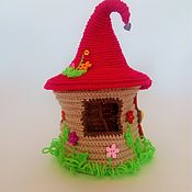Куклы и игрушки handmade. Livemaster - original item House for the finger theater Teremok Doll house Fairy house. Handmade.
