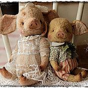 Куклы и игрушки ручной работы. Ярмарка Мастеров - ручная работа ПоросЬята :). Handmade.