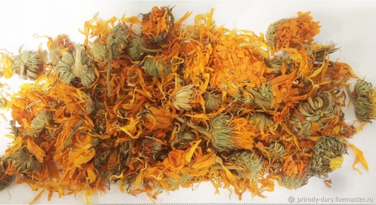Dried flowers: calendula flowers, The dried flowers, ,  Фото №1