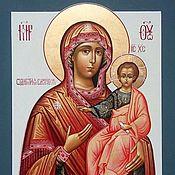 Картины и панно handmade. Livemaster - original item Our Lady Of Smolensk .Protectress(A Guide To. Handmade.