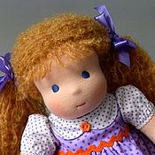Куклы и игрушки ручной работы. Ярмарка Мастеров - ручная работа Вальдорфская кукла Ульяна, 36 см.. Handmade.