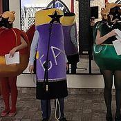 Костюмы ручной работы. Ярмарка Мастеров - ручная работа Костюмы: Новогодние шары и Хлопушка. Handmade.