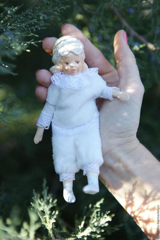 Коллекционные куклы ручной работы. Ярмарка Мастеров - ручная работа. Купить Белка. Handmade. Белый, купить подарок, искусственный мех