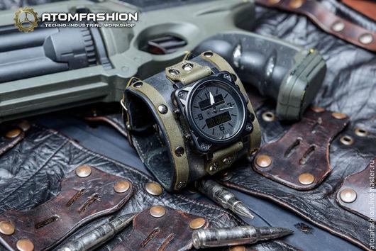 """Часы ручной работы. Ярмарка Мастеров - ручная работа. Купить Часы мужские """"Коммандоc"""". Handmade. Часы, эксклюзивные часы"""