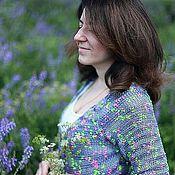 """Одежда ручной работы. Ярмарка Мастеров - ручная работа Кардиган """"Iris"""". Handmade."""