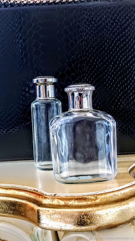 Винтаж: Флаконы парфюмерные Франция, Предметы интерьера винтажные, Санкт-Петербург,  Фото №1