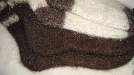 Носки, Чулки ручной работы. Ярмарка Мастеров - ручная работа. Купить Носки из натуральной шерсти. Handmade. Носки, мужские носки