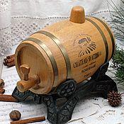 Сувениры и подарки handmade. Livemaster - original item Interior barrel - a gift to her husband, man. Handmade.