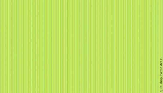 Шитье ручной работы. Ярмарка Мастеров - ручная работа. Купить Хлопок Зеленая полоска. Handmade. Хлопок 100%, американский хлопок