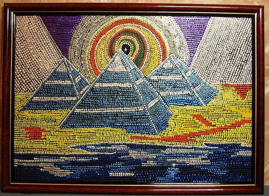Эзотерические аксессуары ручной работы. Ярмарка Мастеров - ручная работа. Купить Пирамидки. Handmade.