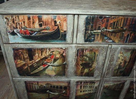 """Мебель ручной работы. Ярмарка Мастеров - ручная работа. Купить Комод """"Сны о Венеции"""". Handmade. Мебель для дома, комод для спальни"""
