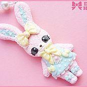 """Украшения ручной работы. Ярмарка Мастеров - ручная работа Колье """"Angelic Bunny"""". Handmade."""