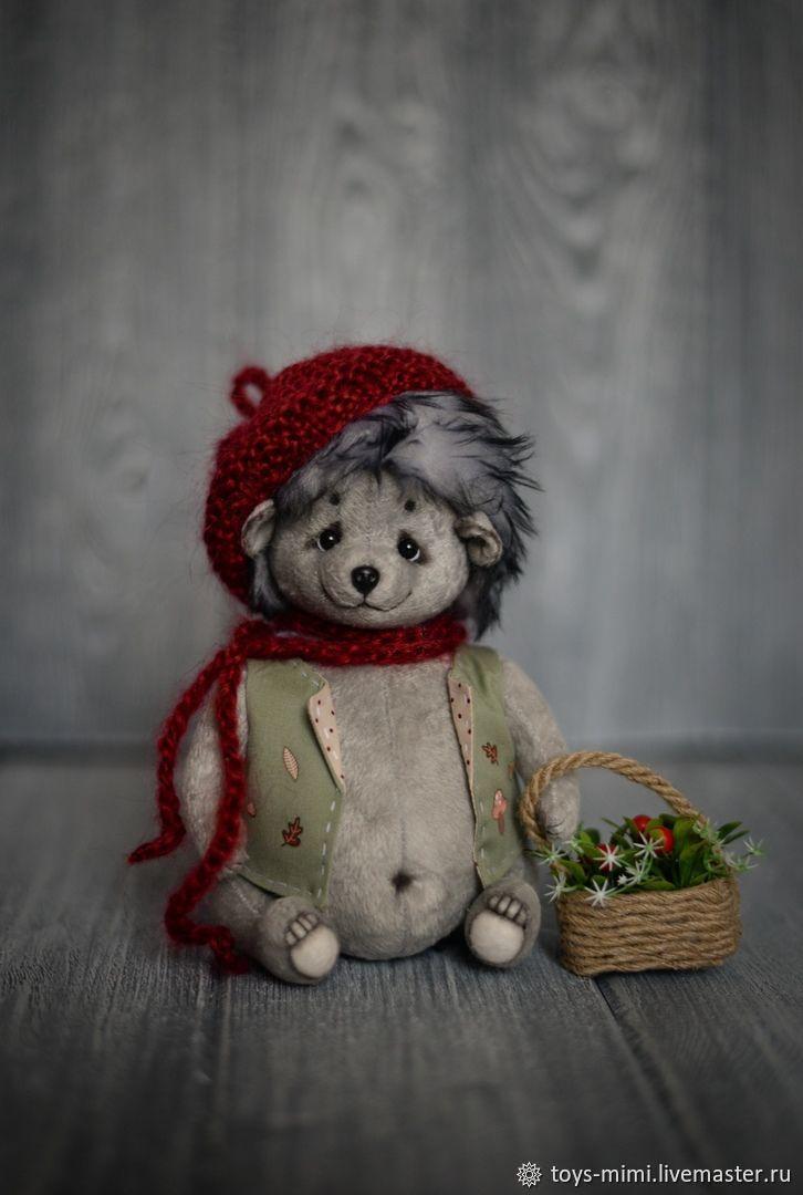 Ёжик с корзинкой, Игрушки, Оленегорск, Фото №1