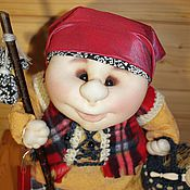 Stuffed Toys handmade. Livemaster - original item Keeper. Handmade.