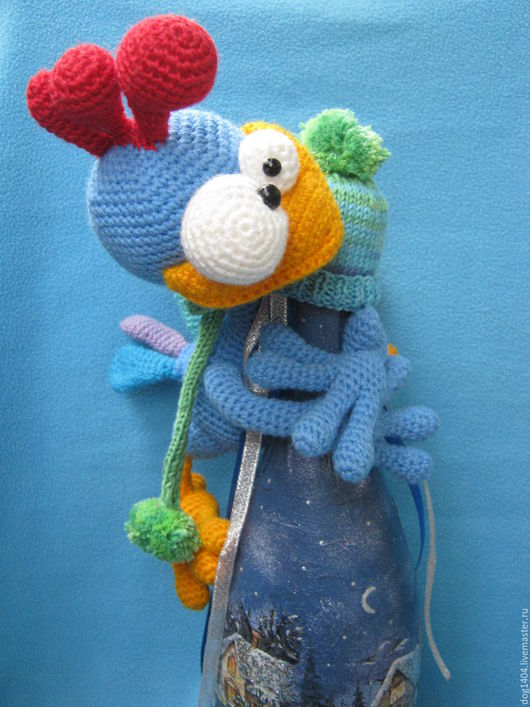 Обучающие материалы ручной работы. Ярмарка Мастеров - ручная работа. Купить Мастер-класс по вязанию игрушки Петушок Патрик. Handmade.