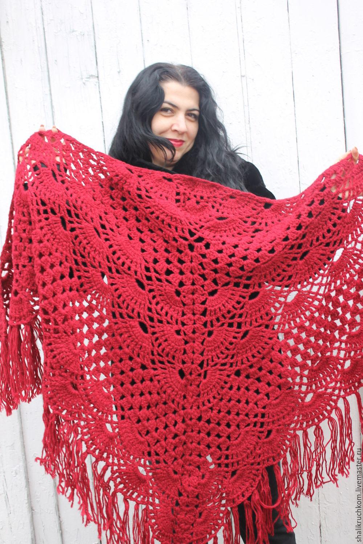 Вязание платки и шали