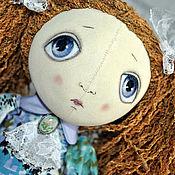 Куклы и игрушки ручной работы. Ярмарка Мастеров - ручная работа Кукла текстильная грунтованная с хвостиками Светлана. Handmade.