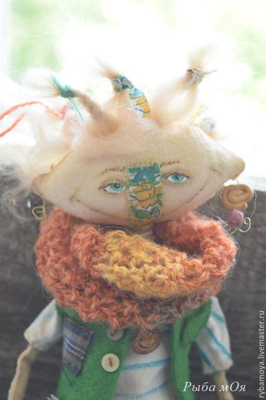 Авторская кукла Путя-ПутеШествеНница. Ярмарка мастеров-ручная работа. Handmade. Чердачная кукла купить.  Мастер Яга.