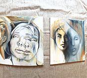Картины и панно ручной работы. Ярмарка Мастеров - ручная работа Гармония противоположностей. Handmade.