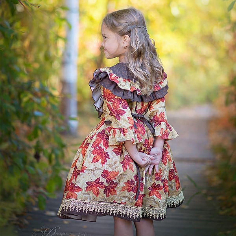 """Платье """"Кленовые листья"""", Одежда, Новосибирск, Фото №1"""
