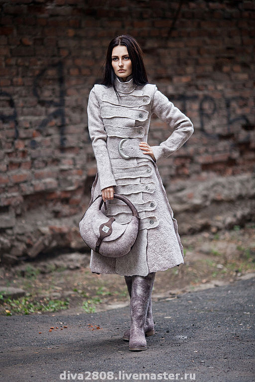 Верхняя одежда ручной работы. Ярмарка Мастеров - ручная работа. Купить Пальто. Handmade. Авторский дизайн, авторская работа, Валяние
