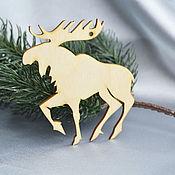 Материалы для творчества handmade. Livemaster - original item Moose for painting and decoration. Handmade.