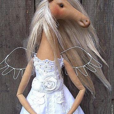 Куклы и игрушки ручной работы. Ярмарка Мастеров - ручная работа Мне бы лошадью белой...... Handmade.