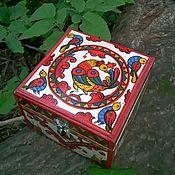 Русский стиль handmade. Livemaster - original item Box of fairy tales. Handmade.