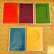 Материалы для творчества ручной работы. Ярмарка Мастеров - ручная работа Заготовки для открыток (большие). Handmade.