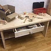 Для дома и интерьера ручной работы. Ярмарка Мастеров - ручная работа Детский верстак. Handmade.